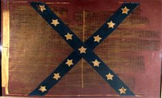 46th/55th Tennessee battle flag captured at during the battle of Ezra Church.