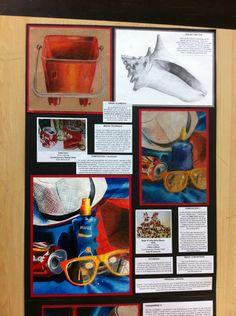 Sketchbook Layout, Gcse Art Sketchbook, Sketchbook Inspiration, Student Art Guide, Art Alevel, Ap Studio Art, Object Drawing, Expressive Art, A Level Art