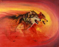 fantasy art wolfs - Google zoeken