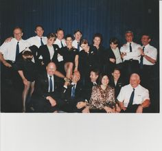 SA Express Airways in 2000..  from Superjets to  Dash-8 and CRJ's ..PLS CAN I HAVE MY JOB BACK?????? Back row: Adelbert van Duyn Raymond Stein Andy Shackleton Johan de Necker.??..me Barry Eichoff and Bruce Lillebo Middle row: from left - Jean Biddulph (you tart!! - just kidding..)Cristina ?, Dale Littlefield, Angie O'Brien Front row: Quentin Kruger Toni Tsolakis Pier Hemy Enid van Heerden, ?? Robin Brownell Back Row, Front Row, My Job, Just Kidding, The Row, Robin, Tart, Middle, Polaroid Film