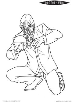 1000 images about coloring pages on pinterest coloring for D is for doctor coloring page