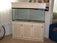55 gallon aquarium stand