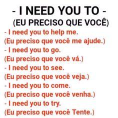 English Help, English Time, Learn English Words, English Course, English Study, French Phrases, English Phrases, English Grammar, Portuguese Lessons