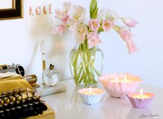 How to Decorate Your Desk with Candles
