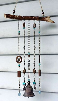 Cool 30+ Wonderful DIY Wind Chimes Ideas https://pinarchitecture.com/30-wonderful-diy-wind-chimes-ideas/
