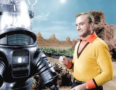 Lost in space with Robby the Robot War of the robots in season 1