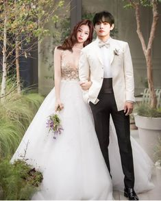 Taehyung, Kpop Couples, Anime Scenery Wallpaper, Blackpink And Bts, Jennie Blackpink, Formal Dresses, Wedding Dresses, Ulzzang, Lace