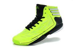 reputable site fe6a0 04011 D Rose 2012 Adidas Crazy Light 2 Black Electricity Green