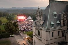 We have lots of great events, like our Summer Concert Series on the South Terrace, and A Moveable Feast on the grounds.