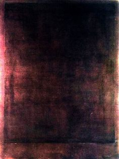 Rothko, Painting no. 8 circa 1970