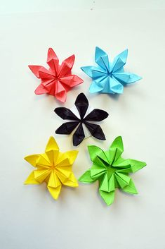 Amazing paper flower origami craft tutorial diy its a very easy beautiful colored flowers paper origami folding tutorial diy in this tutorial i show how to fold a beautiful paper flower out of hexagon its a very cool mightylinksfo Choice Image