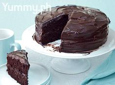 Chocolate Tablea Cake