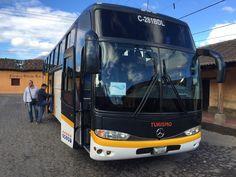 2015 #PERIPLOS #Viaje a #Guatemala  - El bus, de recogida