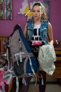 Sudden: Hollyoaks has given no indication as to why Stephanie, pictured in a 2011 scene, h. Lime Pictures, Star Pictures, Lysette Anthony, Stephanie Davis, Hollyoaks, Old Actress, Celebrity News, The Row, It Cast