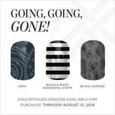 Get yours before they are gone. www.wrappedtoperfection.jamberrynails.net