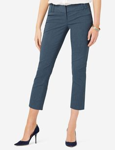Exact Stretch Cropped Pants - Our amazing Exact Stretch® fabric flexes to fit all shapes, and is consistently top rated by our customers.