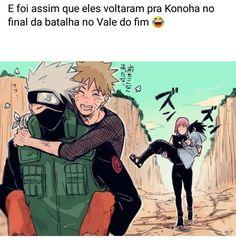 Sasunaru, Naruto Uzumaki, Boruto, Anime Naruto, Sakura And Sasuke, Sakura Haruno, Guerra Ninja, Funny Anime Pics, Naruto Team 7