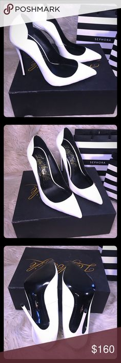 👠😍🔥 LUST FOR LIFE KASH PUMP 🔥😍👠 Lust for life kash pump👠🔥💋 in white 🤗 very beautiful shoe! Makes the leg look amazing! They remind me of a so kate or pigalle! Very high and sexy! 💋 there is a scuff mark on ther left heel that can easily be taken out... they have never been worn outside!! 👌🏾 only tried on... please let me know if you have any questions… All offers will be considered… Please follow me for more great items coming to you straight from my closet!😍😝😊👌🏾 lust for…