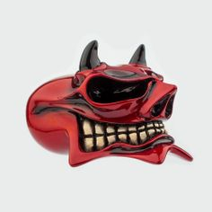 """Van Chase custom shift knob -custom, hand-painted MCPHAIL """"Devil"""""""