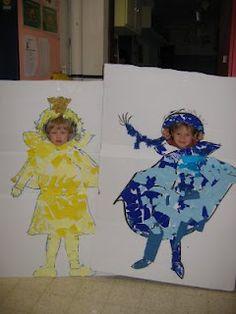 Eefje donkerblauw van Geert de Cockere en Lieve Baeten Creative Kids, Coloring For Kids, Creative Inspiration, Handicraft, Fairy Tales, Halloween, Carnival, Craft, Arts And Crafts