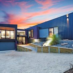True Blue Roofing Geelong specializes in metal wall cladding which can quickly transform any wall. They are also experts in all aspects of roofing. Roof Cladding, Exterior Cladding, Wall Cladding, Blue Roof, Window Detail, Australian Architecture, Park Homes, Metal Roof, Blue Walls