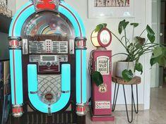 El estilo INDUSTRIAL Jukebox, Vintage Decor, Industrial Style, Home