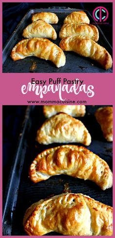Easy Puff Pastry Empanadas on The Jam TV Show.  Empanadas is the Spanish hand-pie, with delicious flaky dough stuffed with ground meat and vegetables. In my version, I used a sheet of store-bought puff pastry because to be honest I don't think I have ever made my own crust for #empanadas.
