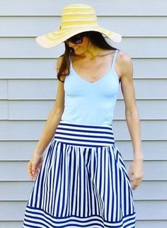 High Seas Skirt by Maeve #anthrofave #anthropologie