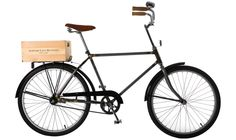 The Broncks Raw from Bowery Lane Bicycles, probably one of the best looking bicycles of all time.