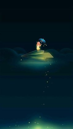 Clique na imagem e veja mais papeis de paredes! Night Sky Wallpaper, Dark Wallpaper, Cute Cartoon Wallpapers, Pretty Wallpapers, Wallpaper Fofos, Night Sky Painting, Alone Art, Artistic Wallpaper, Surreal Photos