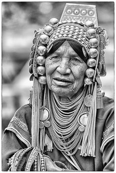 An akha hilltribe woman in Doi Mae Salong, - An akha hilltribe woman in Doi Mae Salong, Chiang Rai, Thailand