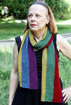 V Stitch, Chain Stitch, Double Crochet, Single Crochet, Give Me 5, Large Scarf, Vertical Stripes, Yarn Needle, Knit Patterns