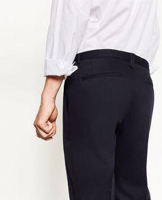 Image 4 de PANTALON DE COSTUME EN CHINTZ de Zara
