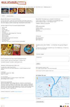 Bäckerei, Konditorei, Confiserie, Lebensmittel, Niederurnen