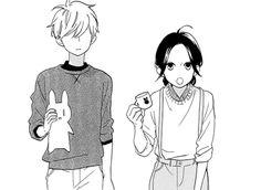 Mamura X Suzume ~ Hirunaka no Ryuusei Manga Love, Manga Girl, Anime Love, Daytime Shooting Star, Shooting Stars, Manga Anime, Anime Art, Mamura Daiki, Anime Monochrome