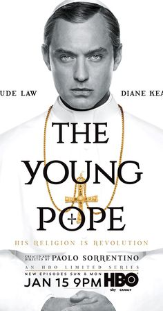 Created by Paolo Sorrentino.  With Jude Law, Diane Keaton, Silvio Orlando, Javier Cámara. The beginning of the pontificate of Lenny Belardo, alias Pius XIII, the first American Pope in history.