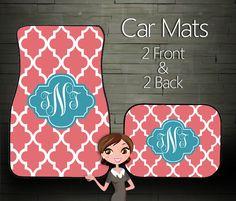 Custom Personalized & Monogrammed Car Floor by BoutiqueMonogram, $44.99