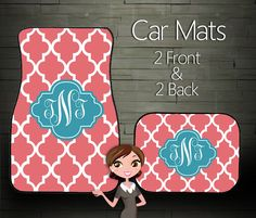 Custom Personalized & Monogrammed Car Floor by BoutiqueMonogram, $44.99