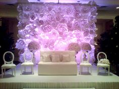 DELUXE 3 Panel Wedding Backdrop - 6-14ft High, 3-Panel Fabric ...