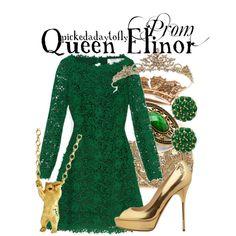 """Queen Elinor"" by pickedadaytofly on Polyvore"