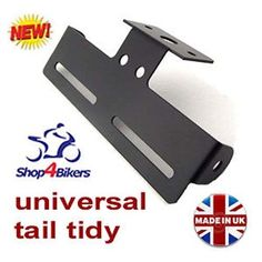 motorcycle universal tail tidy number plate holder rsend tailtidy TT1