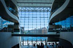 Black diamond Library - Amazing !  Det Kongelige Bibliotek - Den Sorte Diamant en København K, Region Hovedstaden