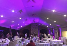Outdoor wedding reception at #Smithview. Lighting by A+ DJ Service-Tony Boring.
