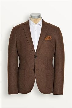 Ginger Twill Wool Blend Jacket