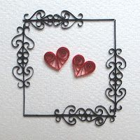 Quilling with Fun: New Filigree Cards