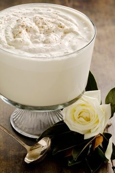 """Mama's Eggnog by Paula Deen I think """"Mama"""" and I would have gotten along JUST fine!!!!! Especially if I came armed with some Bourbon Barrel Aged Vanilla Extract and Bourbon Vanilla Sugar!!! And...Woodford! :)"""
