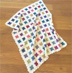 crochet motifs | poppyandbliss Baby Afghan Crochet, Manta Crochet, Tapestry Crochet, Tunisian Crochet, Crochet Square Patterns, Crochet Blanket Patterns, Crochet Motif, Crochet Blankets, Crochet Ideas
