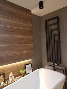 Bathroom Inspiration, Bathtub, Interior, Bathrooms, House, Wall, Bathroom, Quartos, Houses