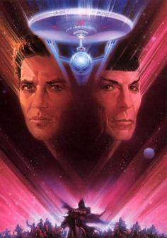 Star Trek V: The Final Frontier - Leonard Nimoy and William Shatner