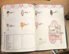 Last full week of February! For some reason when it's cold outside, I always crave ice cream  . . . #icecream #weeklyspread #staycreative #bulletjournal #bujo #bujojunkies #bulletjournaljunkies #planner #organization #bulletjournallove #bulletjournalideas #mildliner #tombowdualbrushpens #crayolasupertips #pigmamicron #journal #showmeyourbulletjournal #sleepybujo #leuchtturm1917 #doodle #handlettering #bujobeauty #showmeyourplanner #showmeyourbulletjournal #bulletjournalcollection